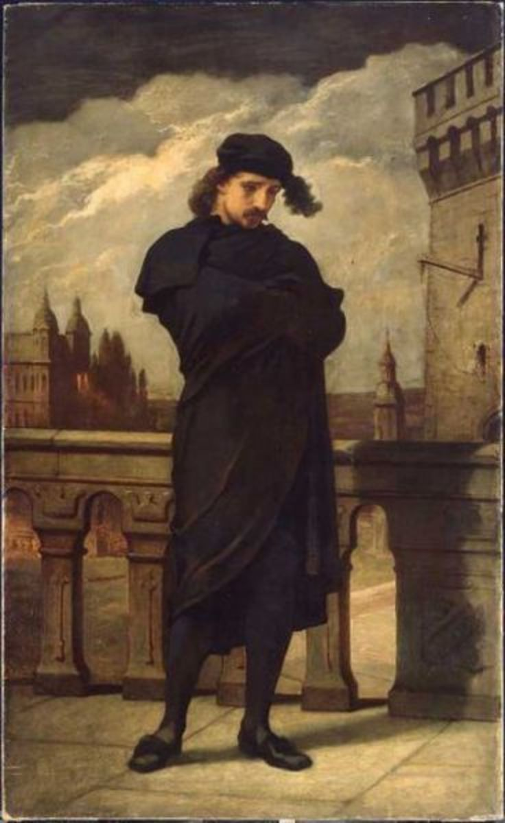 why was hamlet defeated by his own flaws in hamlet a play by william shakespeare As one character in the play hamlet by william shakespeare by his own brother has sent hamlet - hamlet's tragic flaw is his delay in avenging.