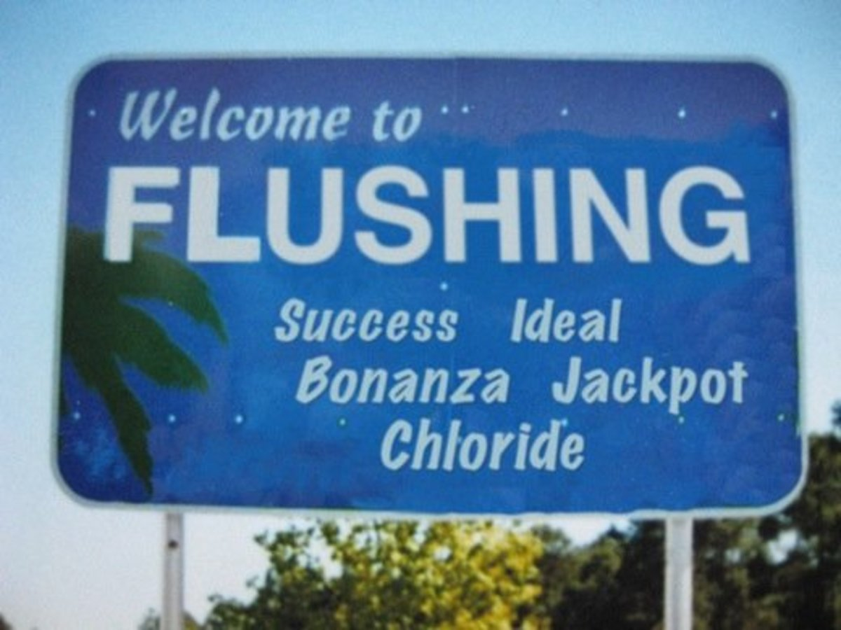 Welcome to a gigantic compendium of funny American place names. It's a long road ahead.