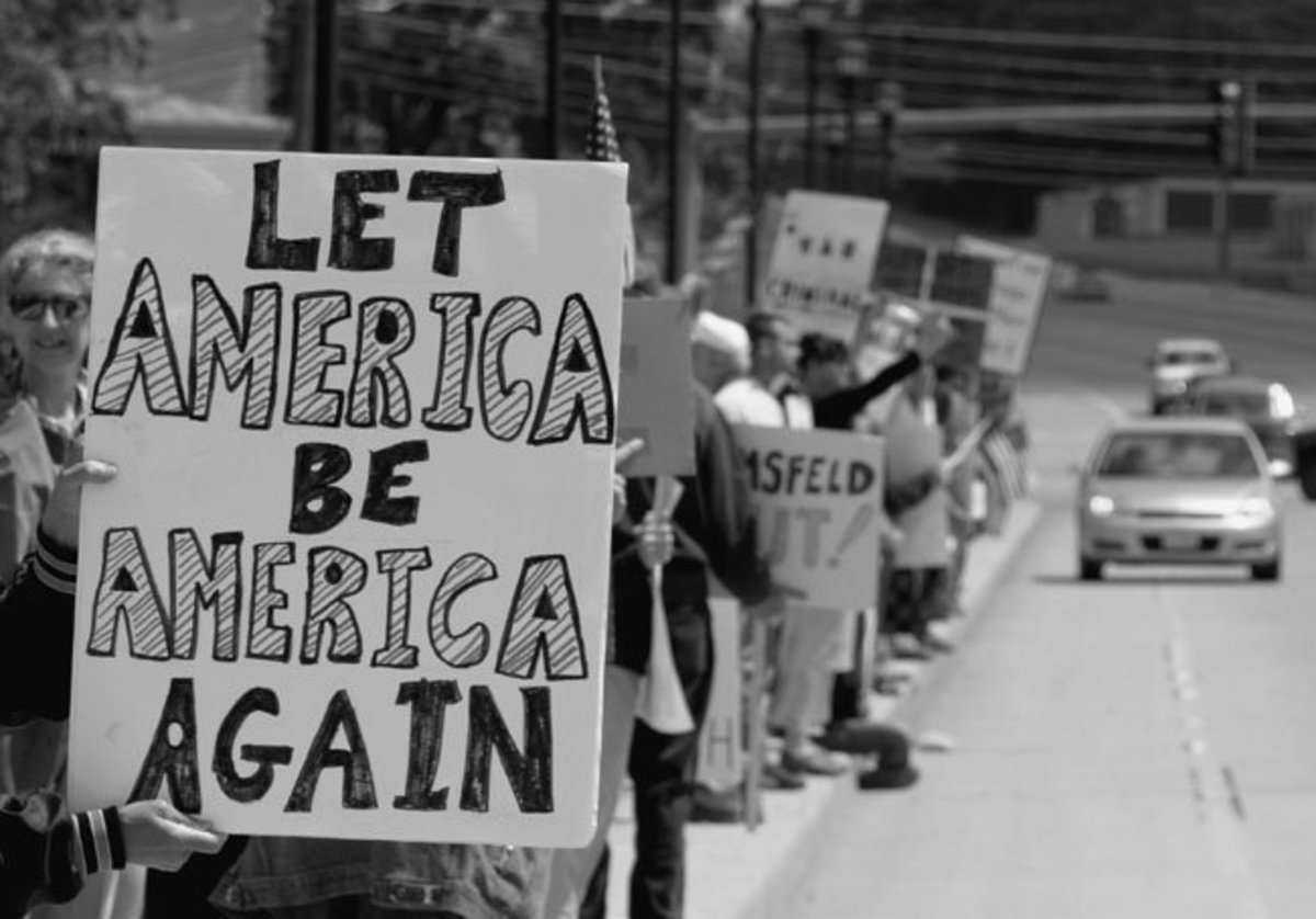 let america be america again essay