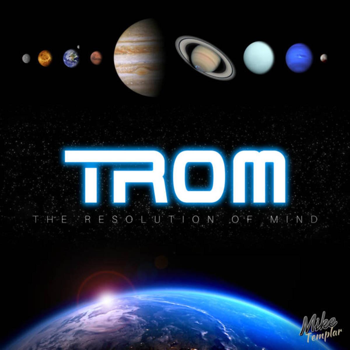 """""""TROM"""" album cover."""