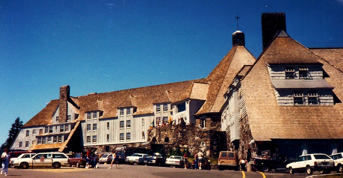 Timberline Lodge near Mount Hood in Oregon