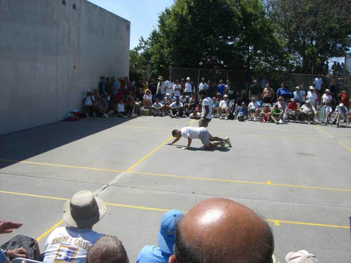 The actual court I use to play in Brooklyn.