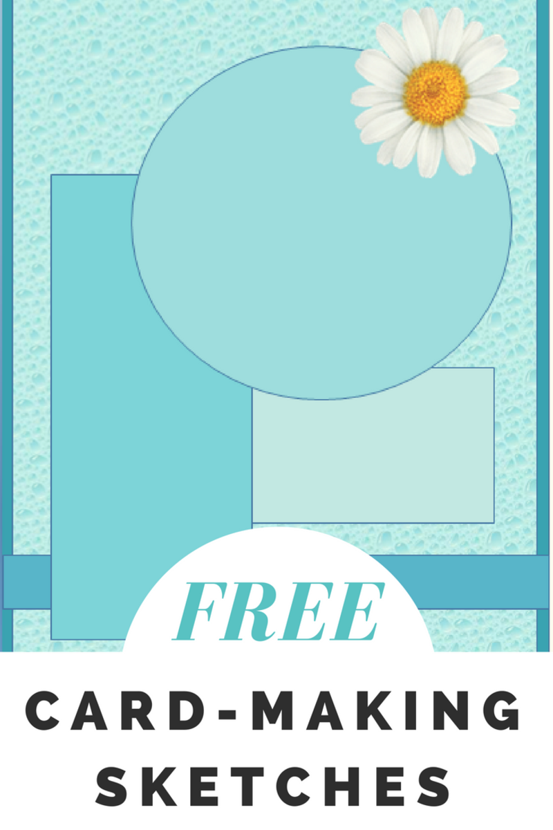 Free Card Making Sketches Feltmagnet