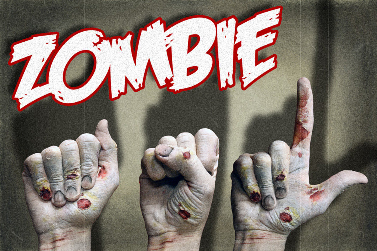 American Sign Language: ASL Zombie Signs