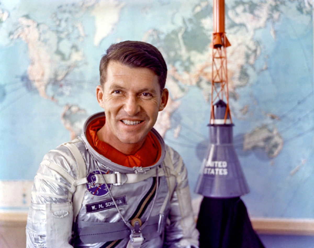 Sigma 7 pilot Wally Schirra. Photo courtesy of NASA.