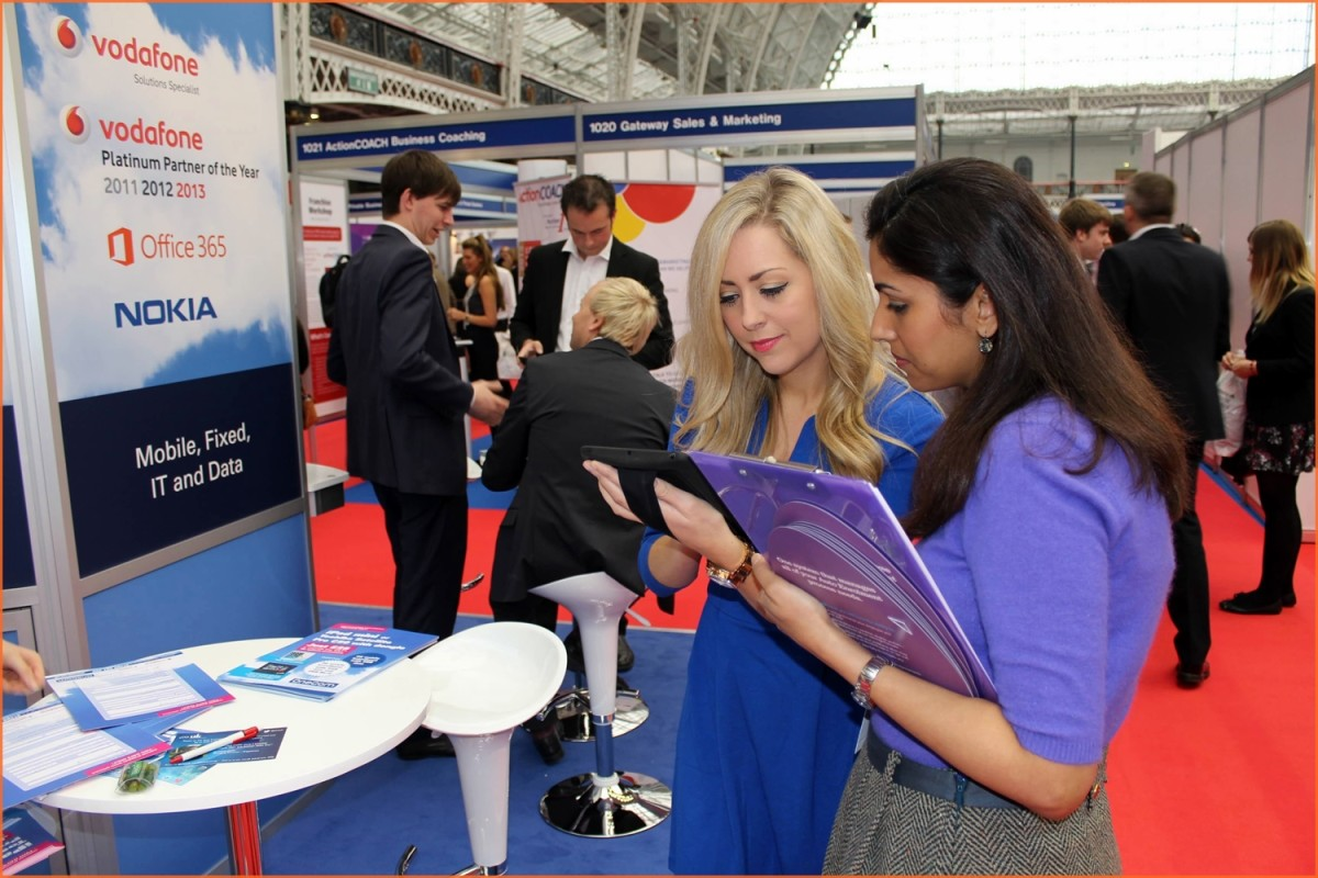 Having well trained staff is key to the success of your company's trade show booth!