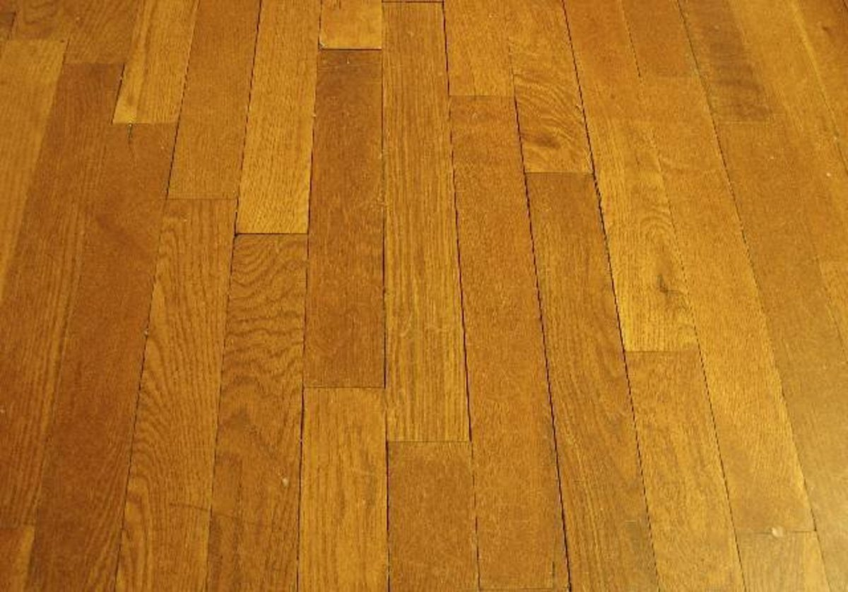 - How To Refinish A Hardwood Floor Hubpages