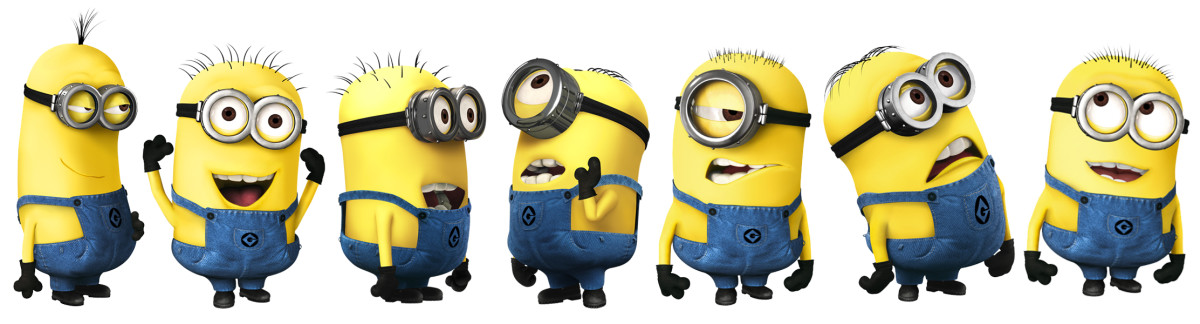 Who's Who of the Minions (1st movie)