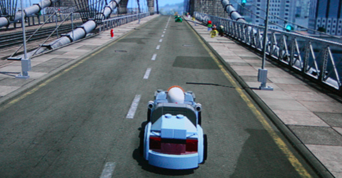 LEGO City Undercover walkthrough: Heritage Bridge Collectibles