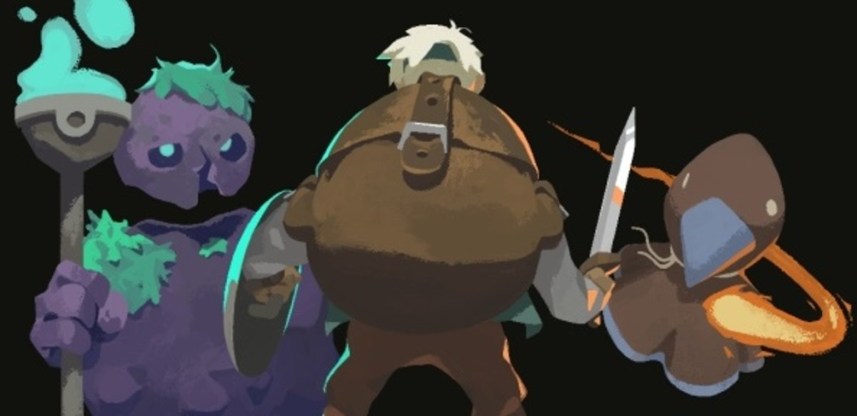 "Sword and Shield in ""Moonlighter"""
