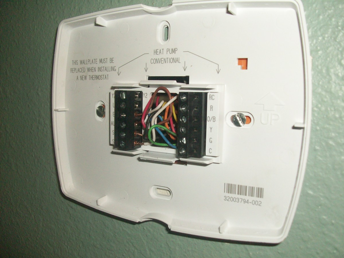 Choosing  Installing And Wiring A Home Thermostat