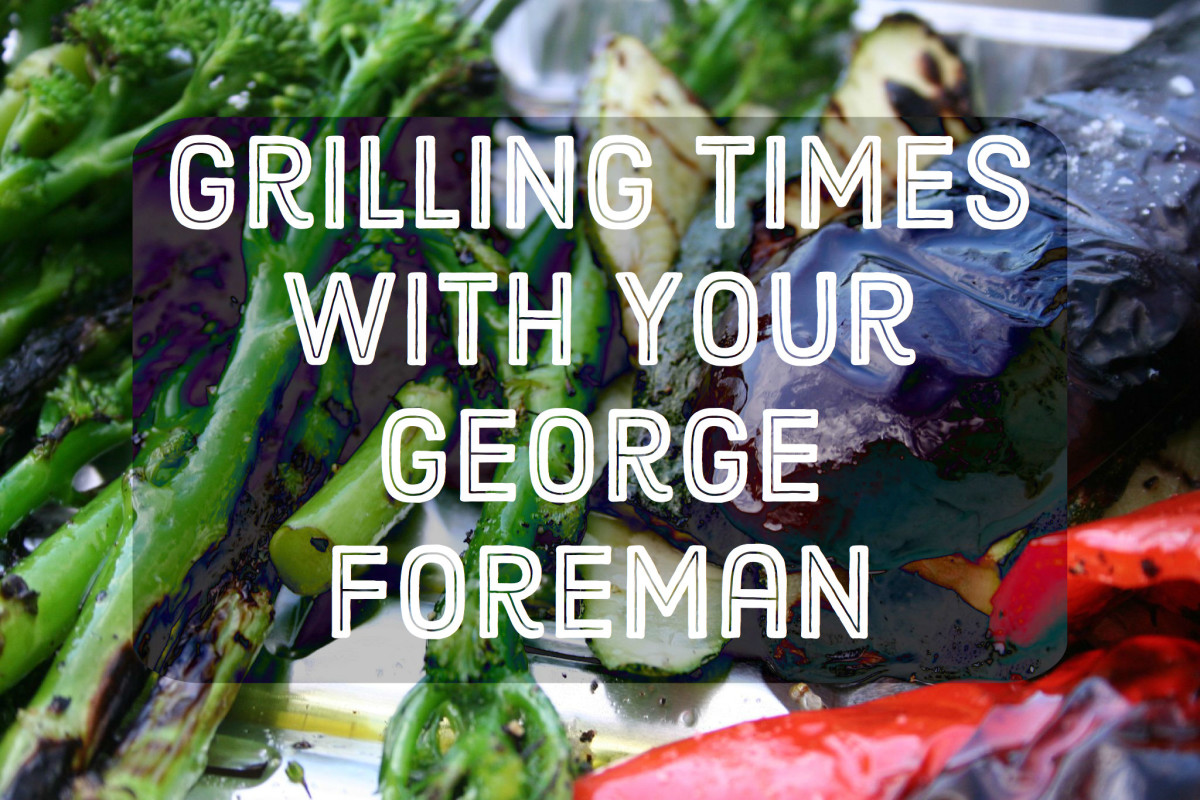 20 Grilling Times For Cooking With Your George Foreman Grill