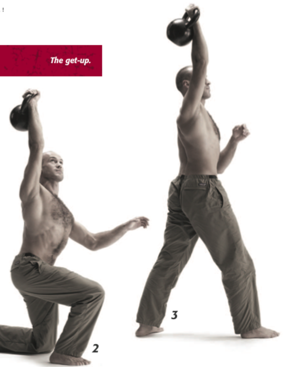 Learn the Kettlebell Turkish Get-Up Hardstyle, From the Ground Up