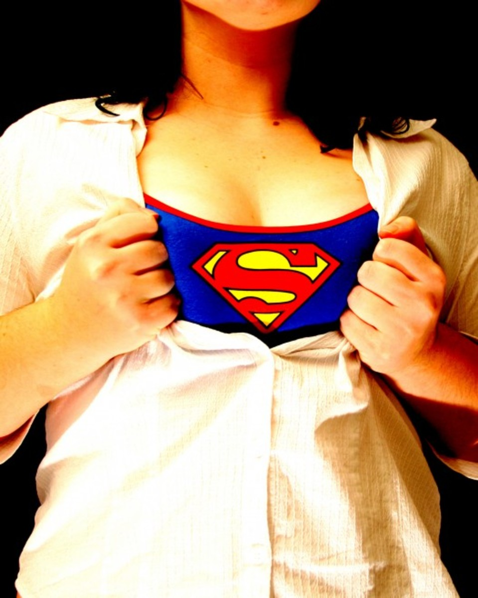 you are not a superhero. You are a woman who has needs of your own.