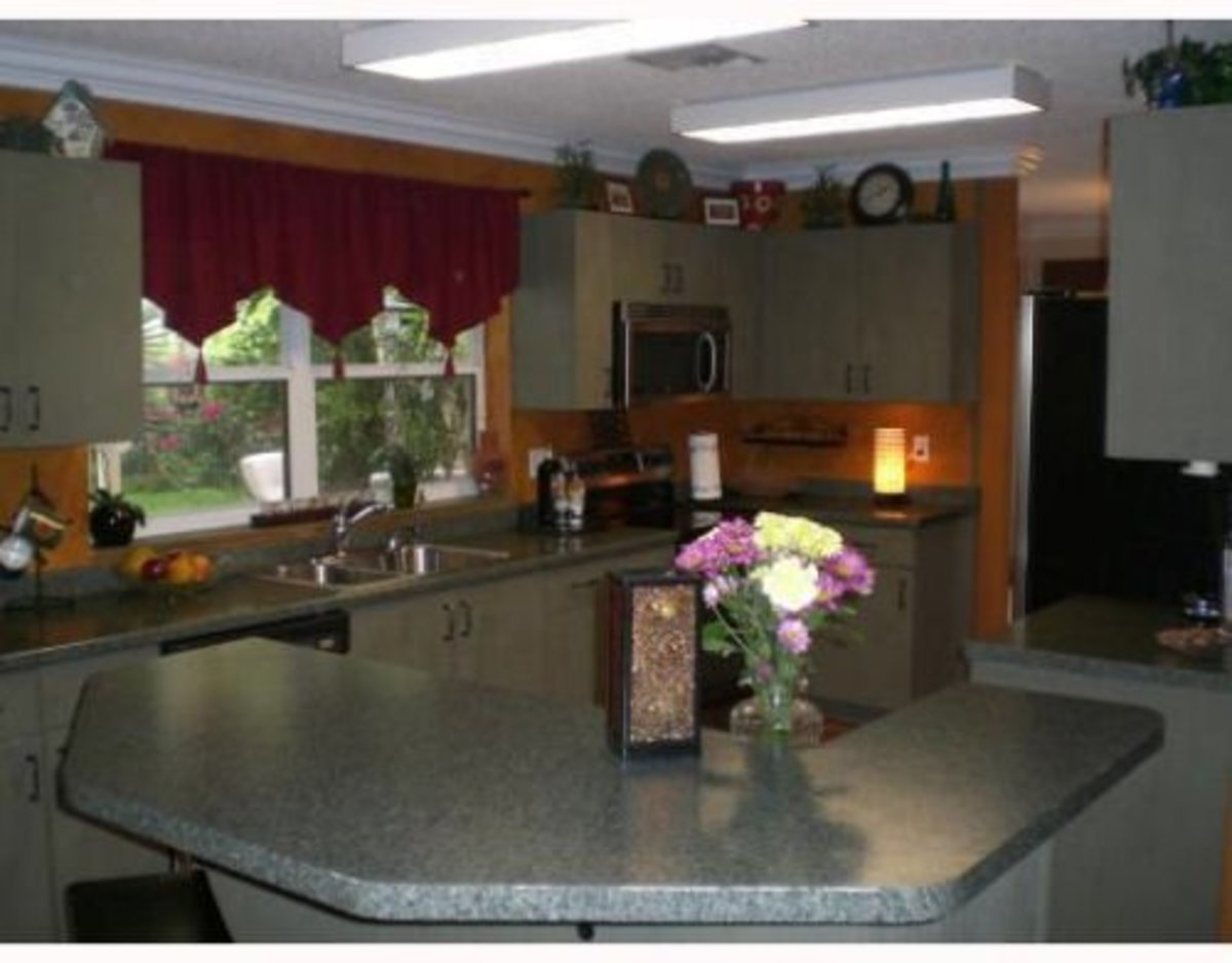 Formica FX – The New Granite? Kitchen Remodeling with Laminate Kitchen Countertops & Refinished Kitchen Cabinets Cheap