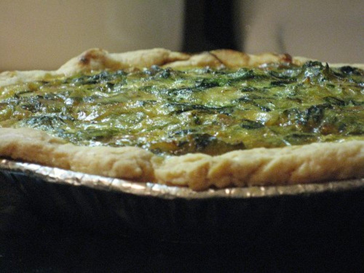 Spinach Quiche Recipes: Quick And Easy Healthy Recipe For Spinach Quiche