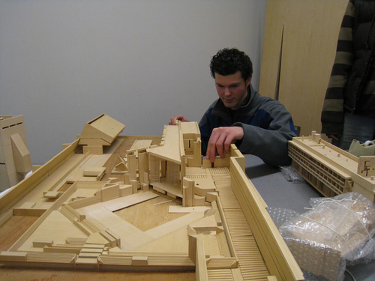 Essential architecture supplies understanding model making for Model making with waste material