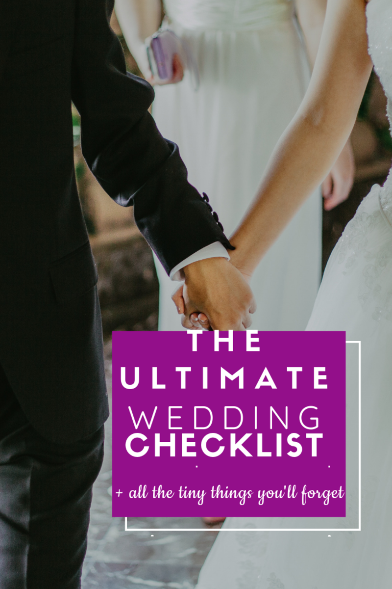 Things Needed For Planning A Wedding Complete Checklist
