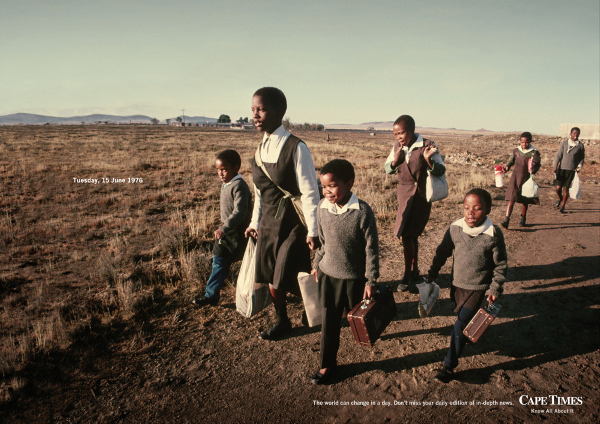 African South Africans' June 16th 1976 Revolt—Sad Times, Bad Times—A Luta Kontinua! AMANDLA! POWER!