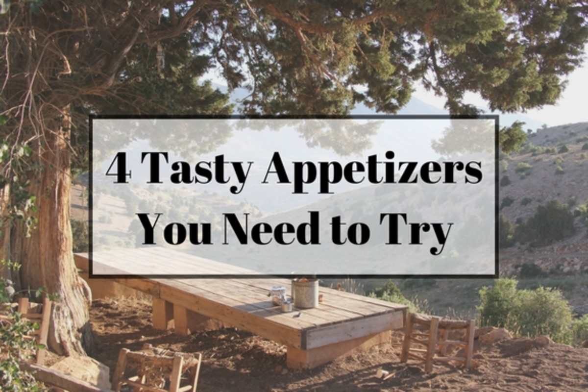 4 Easy Party Appetizers You Need to Try
