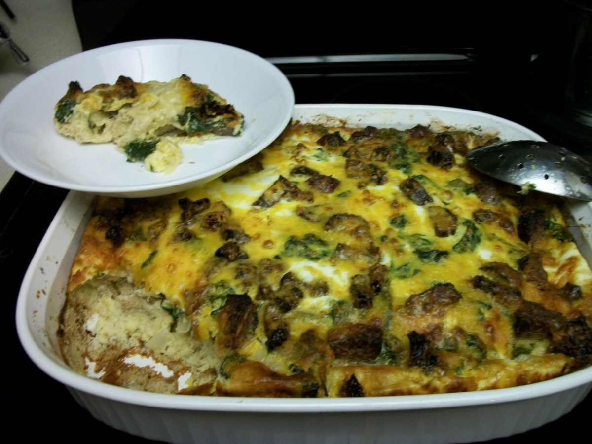 Strata: My Favorite Breakfast Casserole