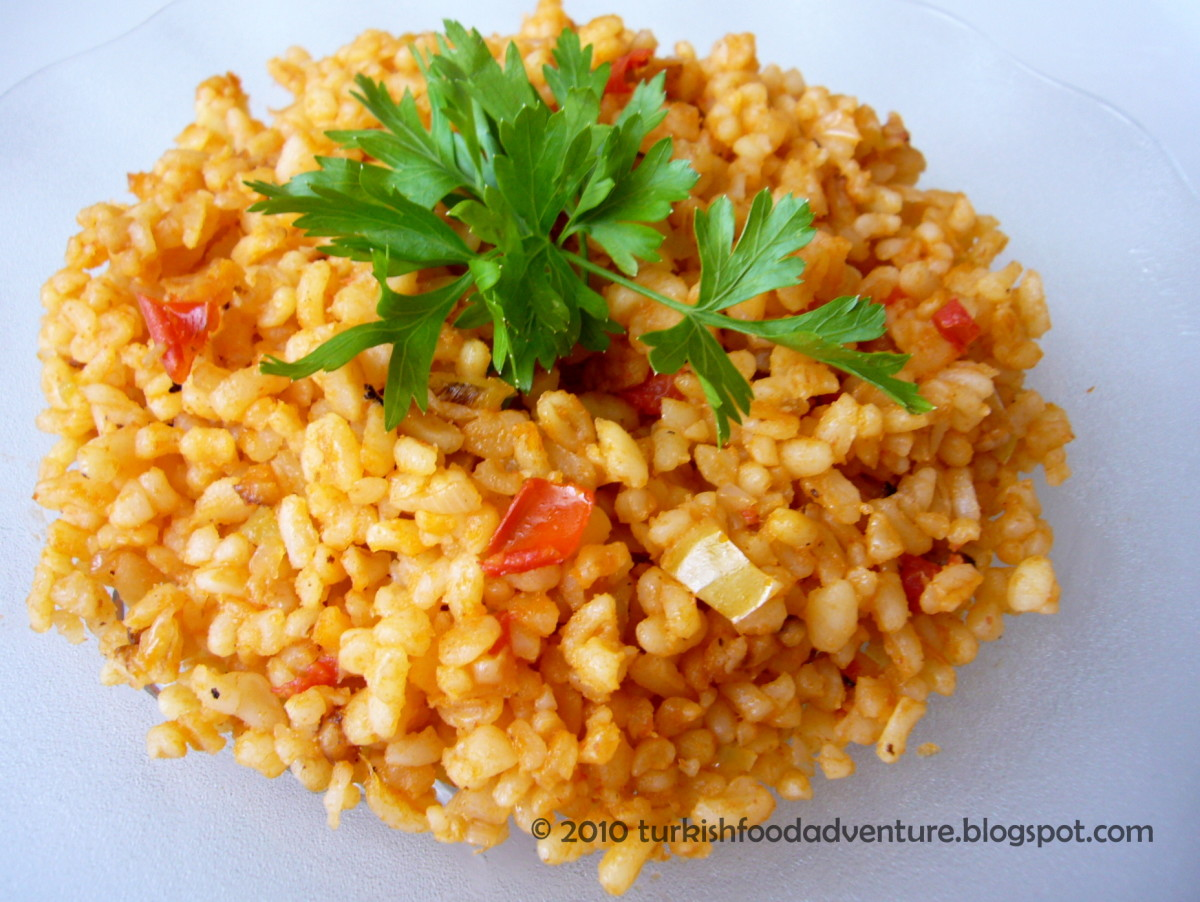 How to Make Bulgur Pilavi (A Nutritious Turkish Pilaf Recipe)