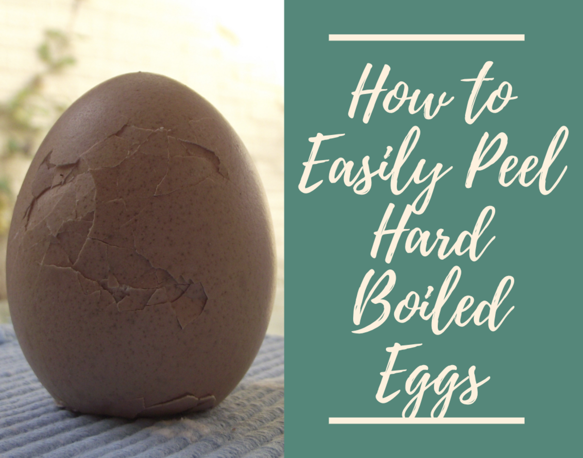 How to Easily Peel Hard-Boiled Eggs