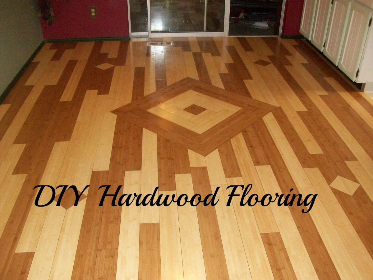 A DIY hardwood flooring project that you can do as well.