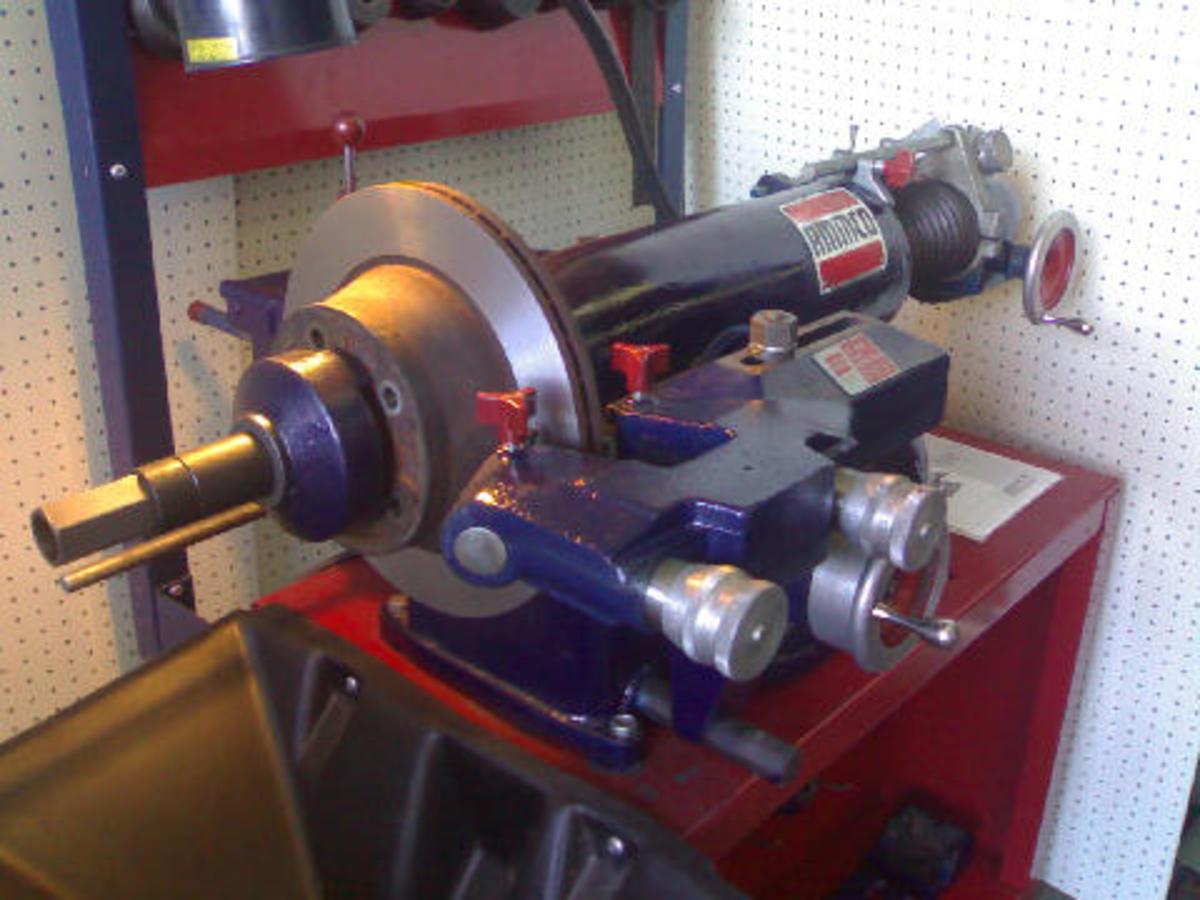 workshop machinery- Automotive shop equipment-Ammco brake lathe ...