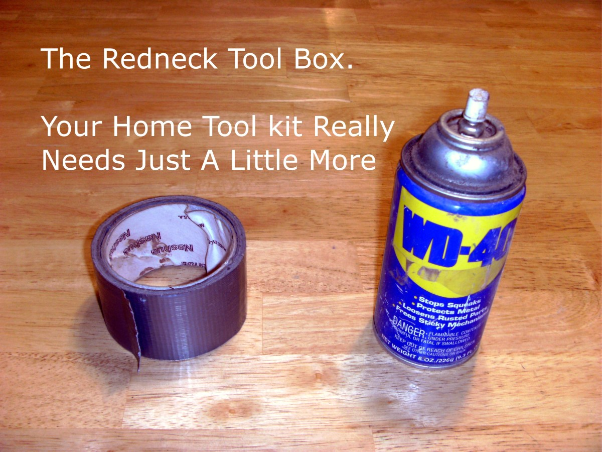 Yes, your toolbox really needs more than duct tape and WD-40.  Who knew?