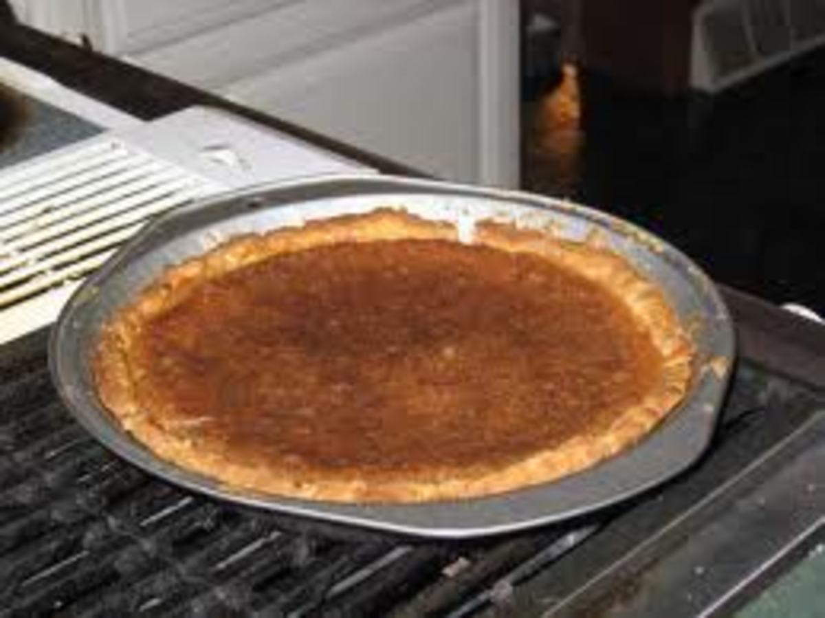 What Is a Vinegar Pie? Info and a Recipe