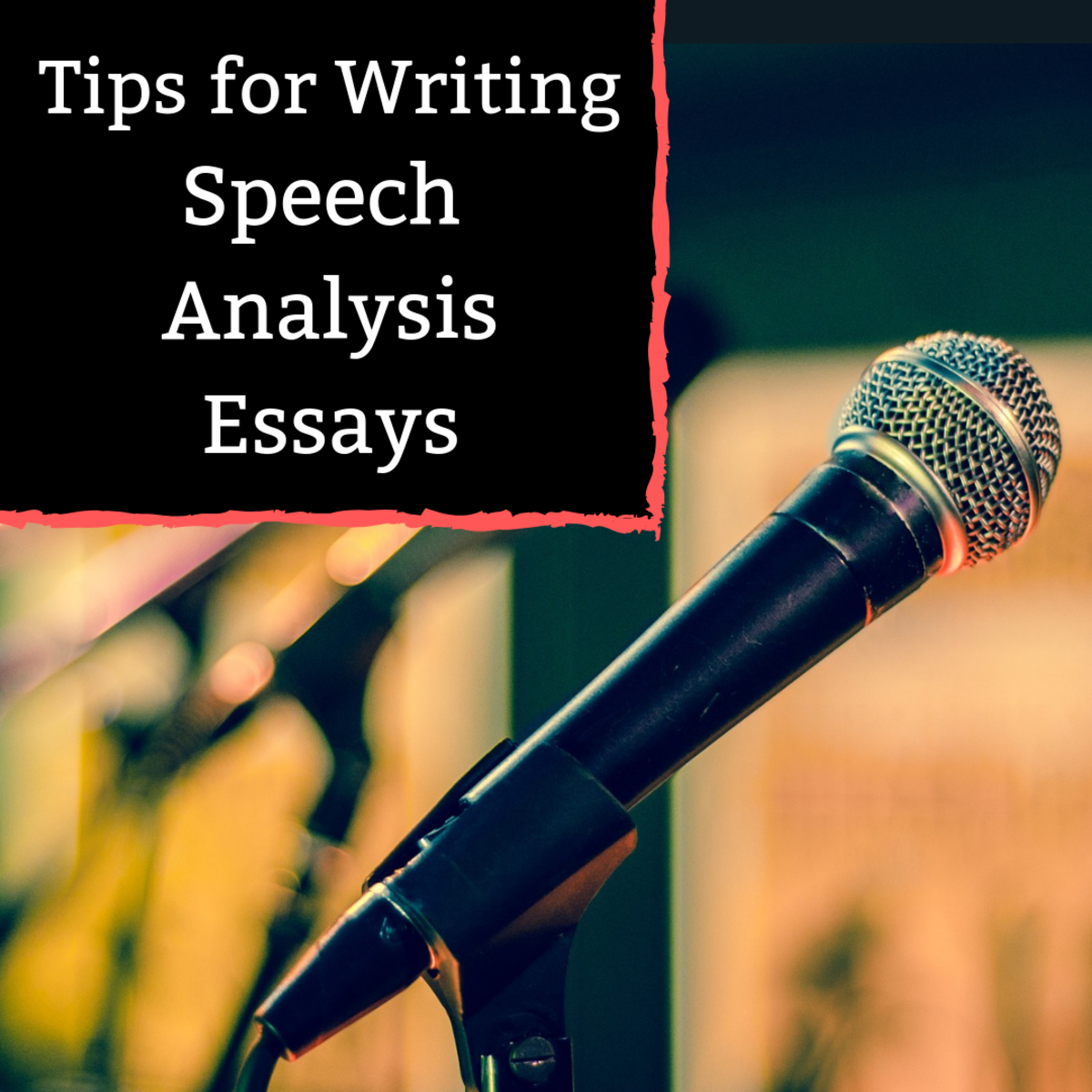 Review the most important parts of a speech analysis, and read a sample essay.