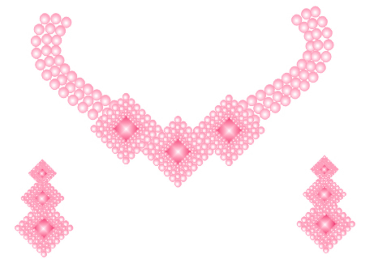 How to Make a Necklace in Corel Draw