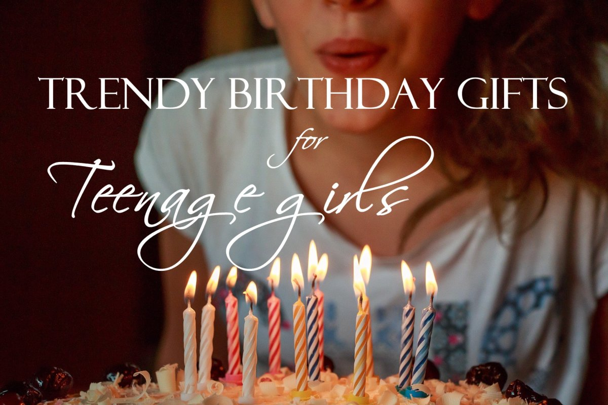 Trendy and unique birthday gifts for teenage girls.