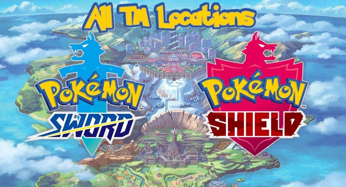 """Pokémon Sword and Shield"": TM Location Guide"