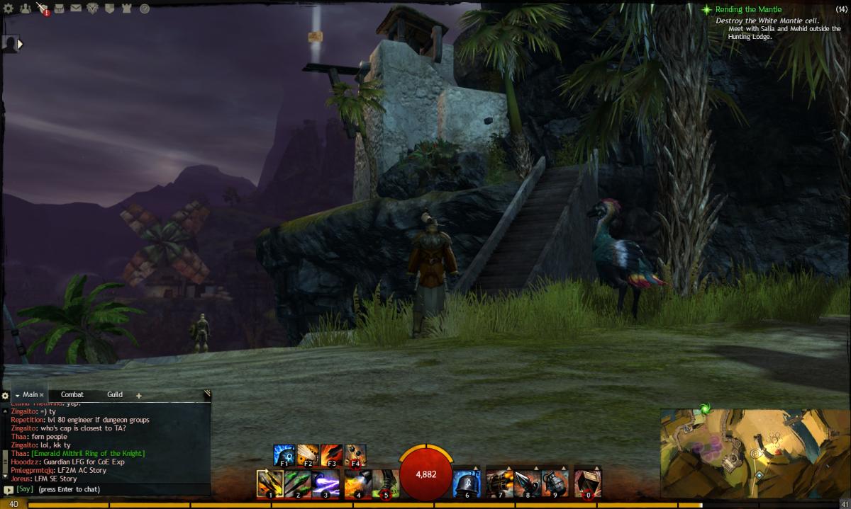 """Guild Wars 2"" Vista Location Guide: Lion's Arch"