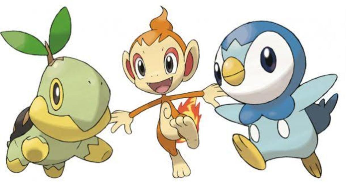 Generation 4 Pokémon Starters