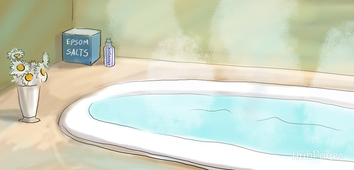 Piercing Care: An Epsom-Lavender Bath