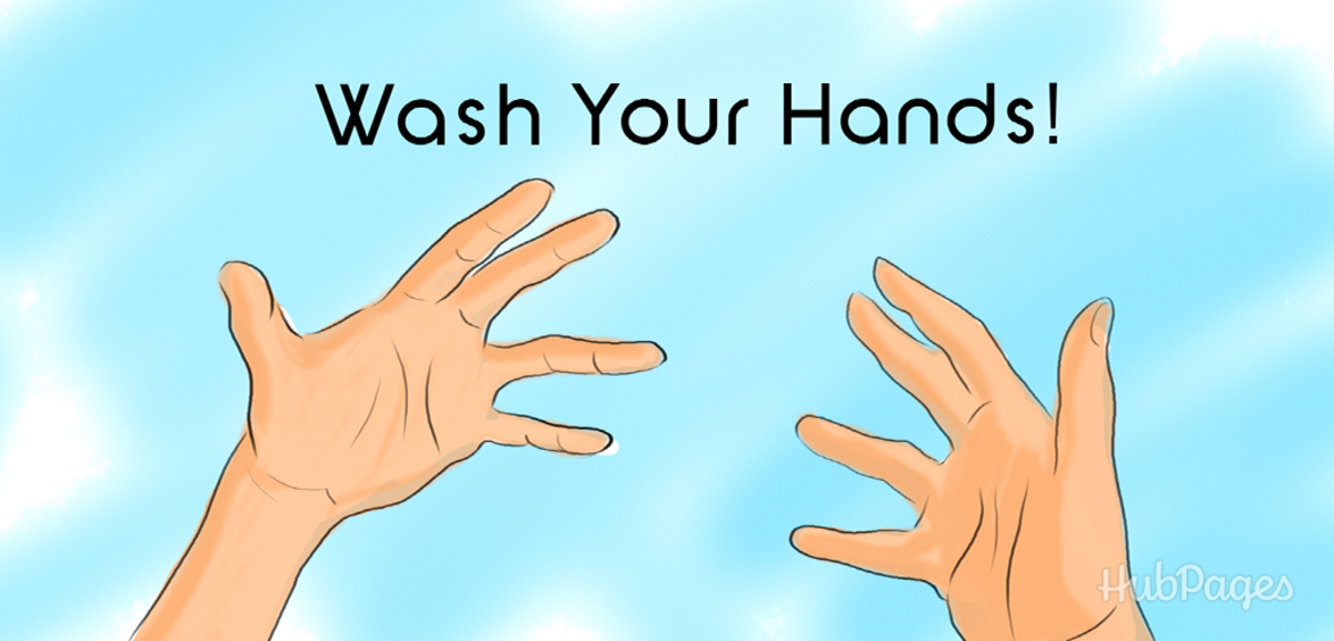 If you're going to touch your piercing, WASH YOUR HANDS!
