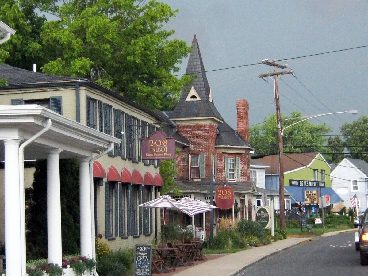 Visit St. Michaels on Maryland's Eastern Shore - A Quaint Water Oriented Town