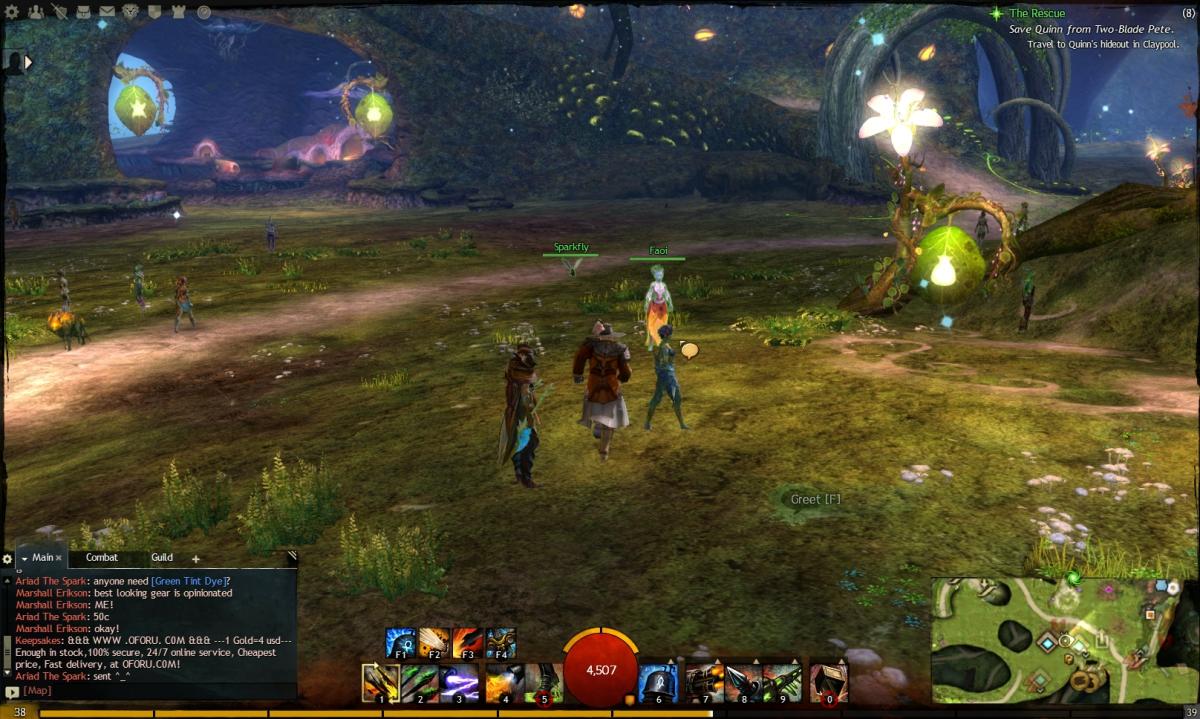 """""""Guild Wars 2"""" Vista Location Guide: The Grove"""