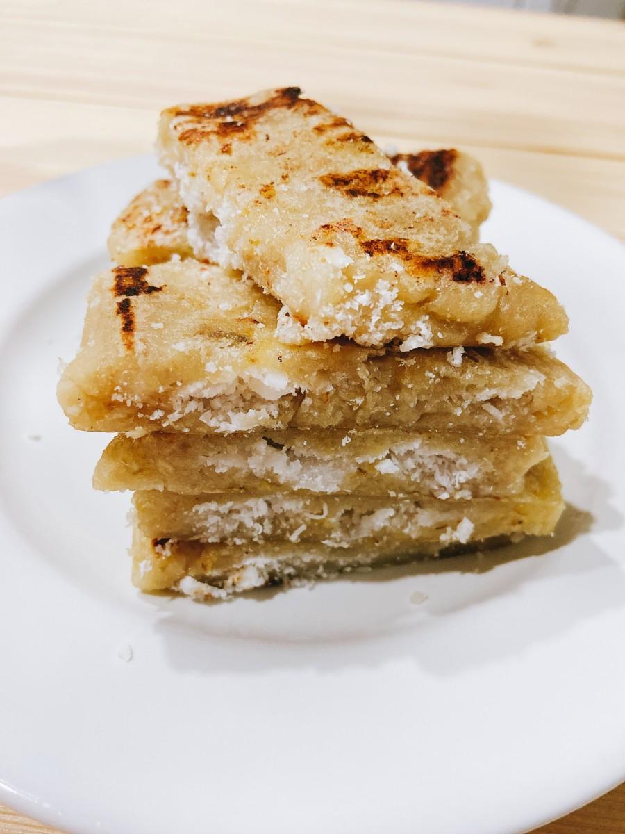 Malay-Style Banana Pancakes (Lepek Pisang)