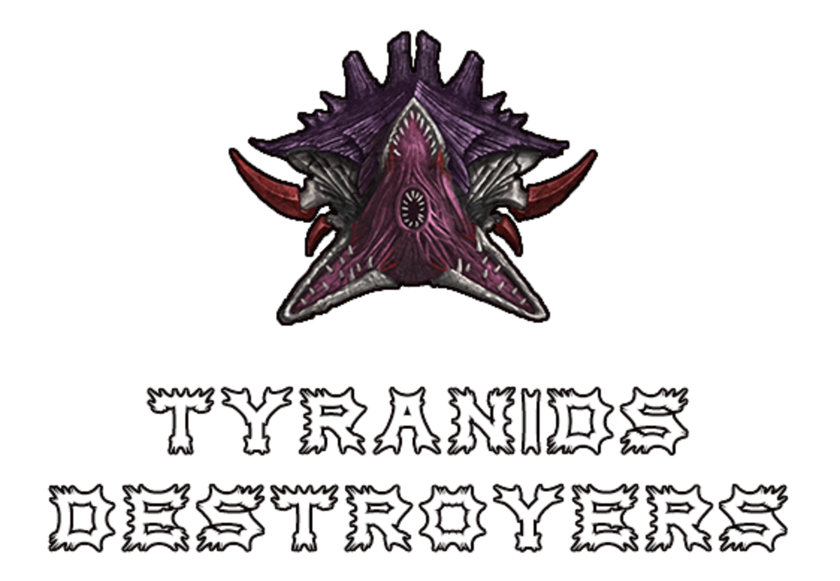 """Battlefleet Gothic: Armada II"" - Tyranids Destroyers [Advanced Ship Guide]"