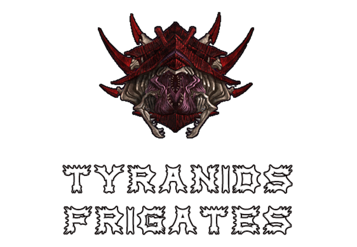 """Battlefleet Gothic: Armada II"" - Tyranids Frigates [Advanced Ship Guide]"