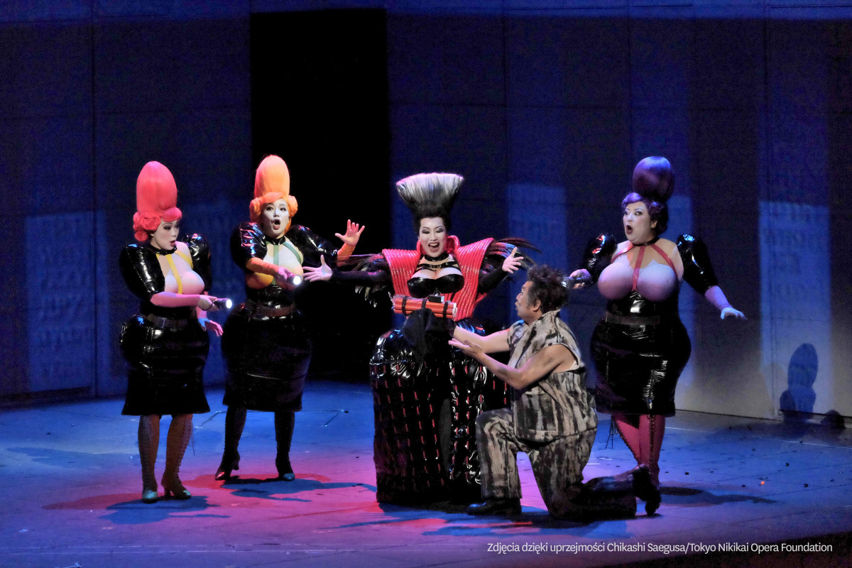 The stage production of Magic Flute