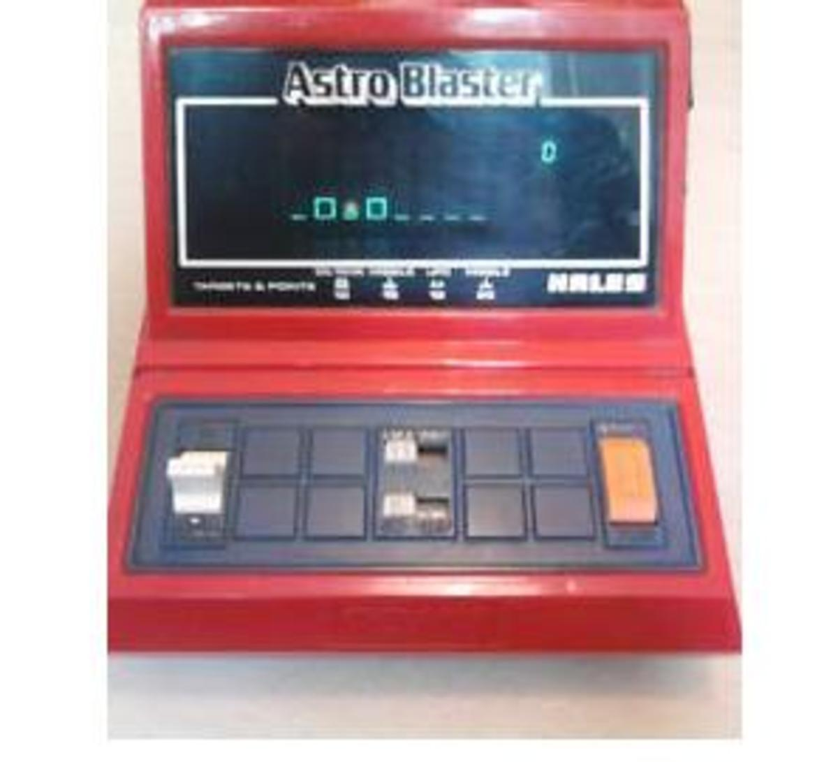 Astro Blaster was a table-top scramble clone from Hales / Tomy