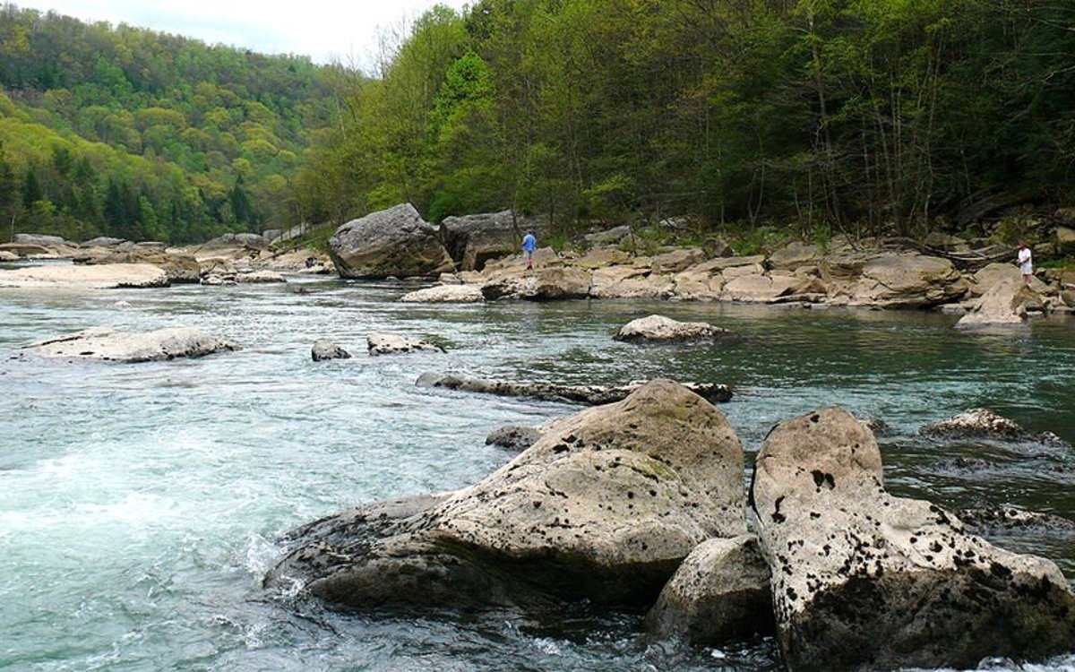 A good-looking spot for trout fishing.