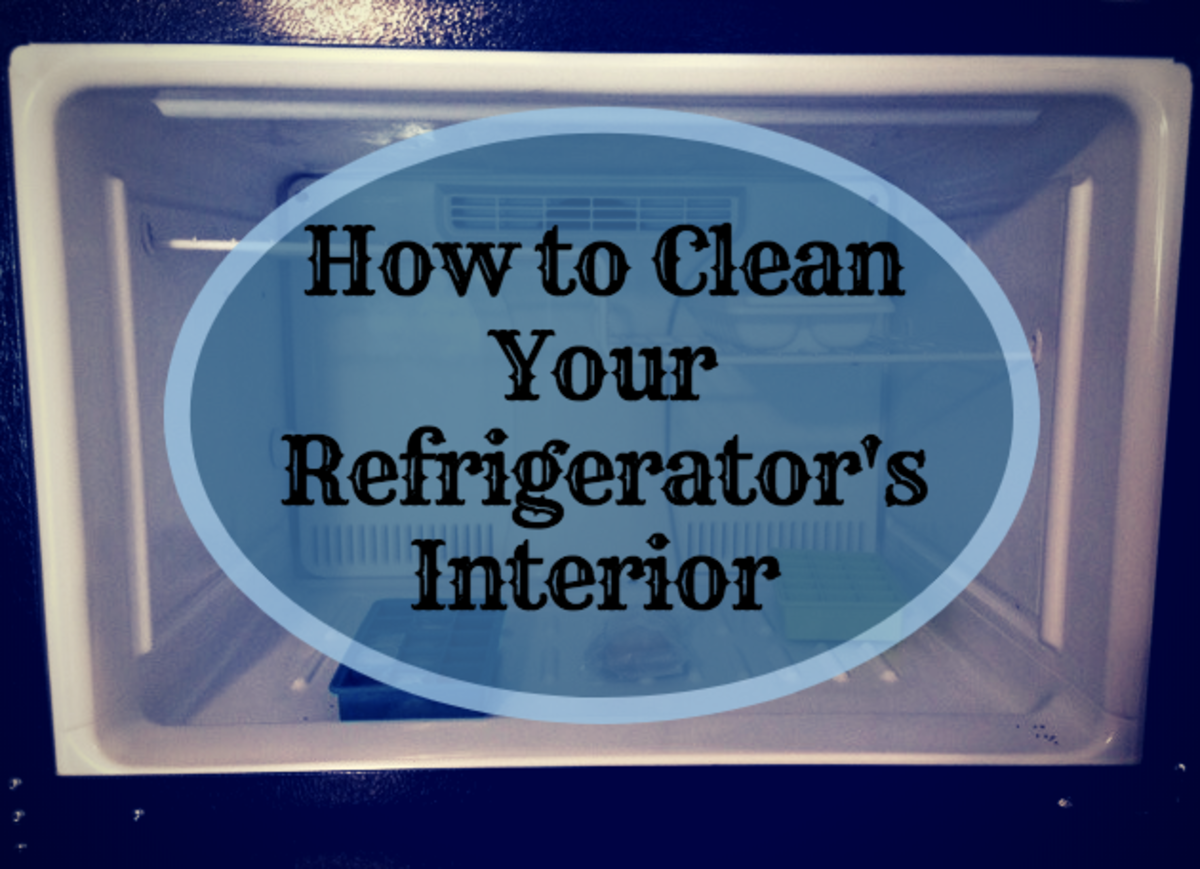 Clean your fridge regularly in order to keep your food at safe levels and to provide you with cold drinks and ice.