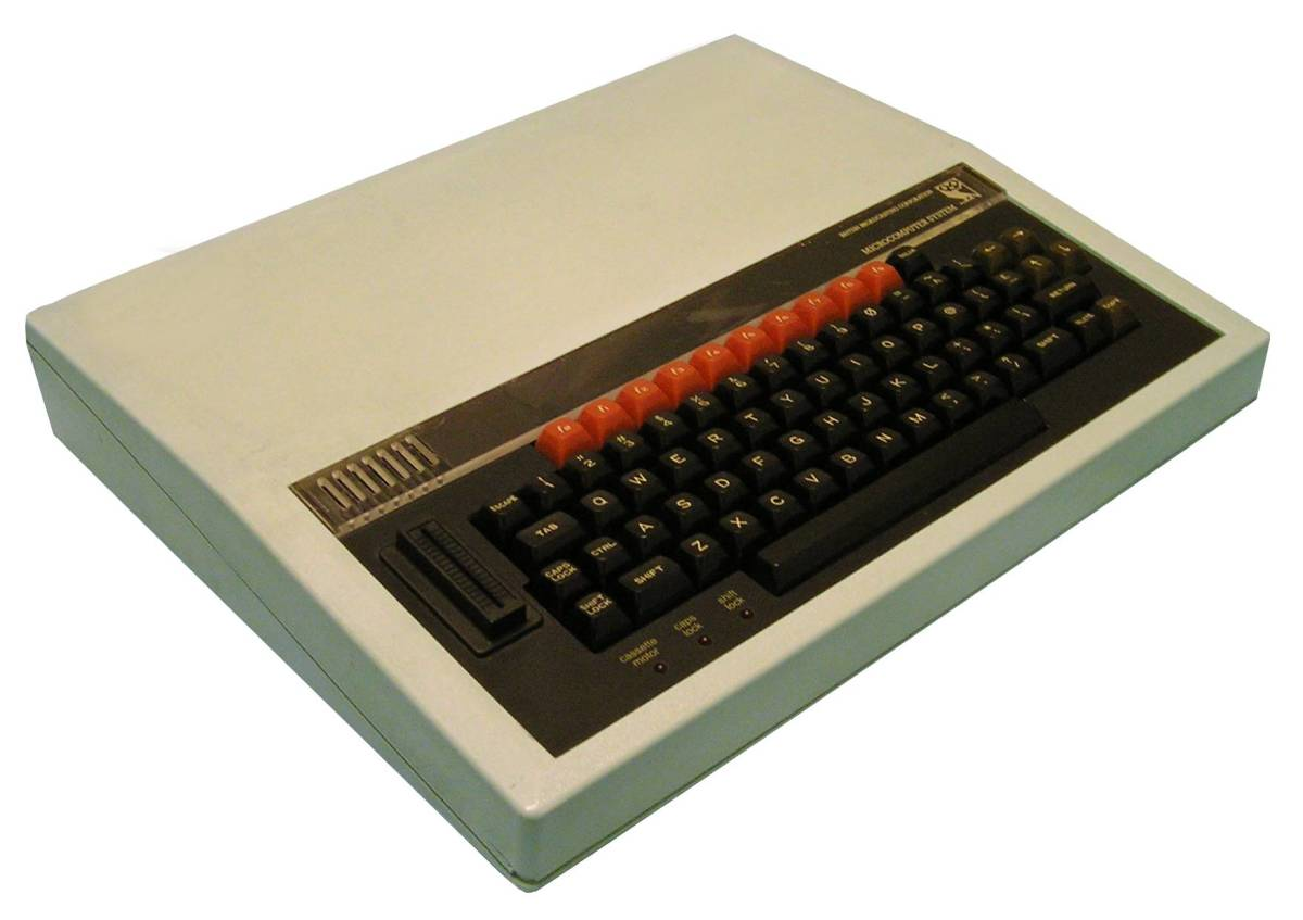 The BBC Model B was a serious looking piece of kit...