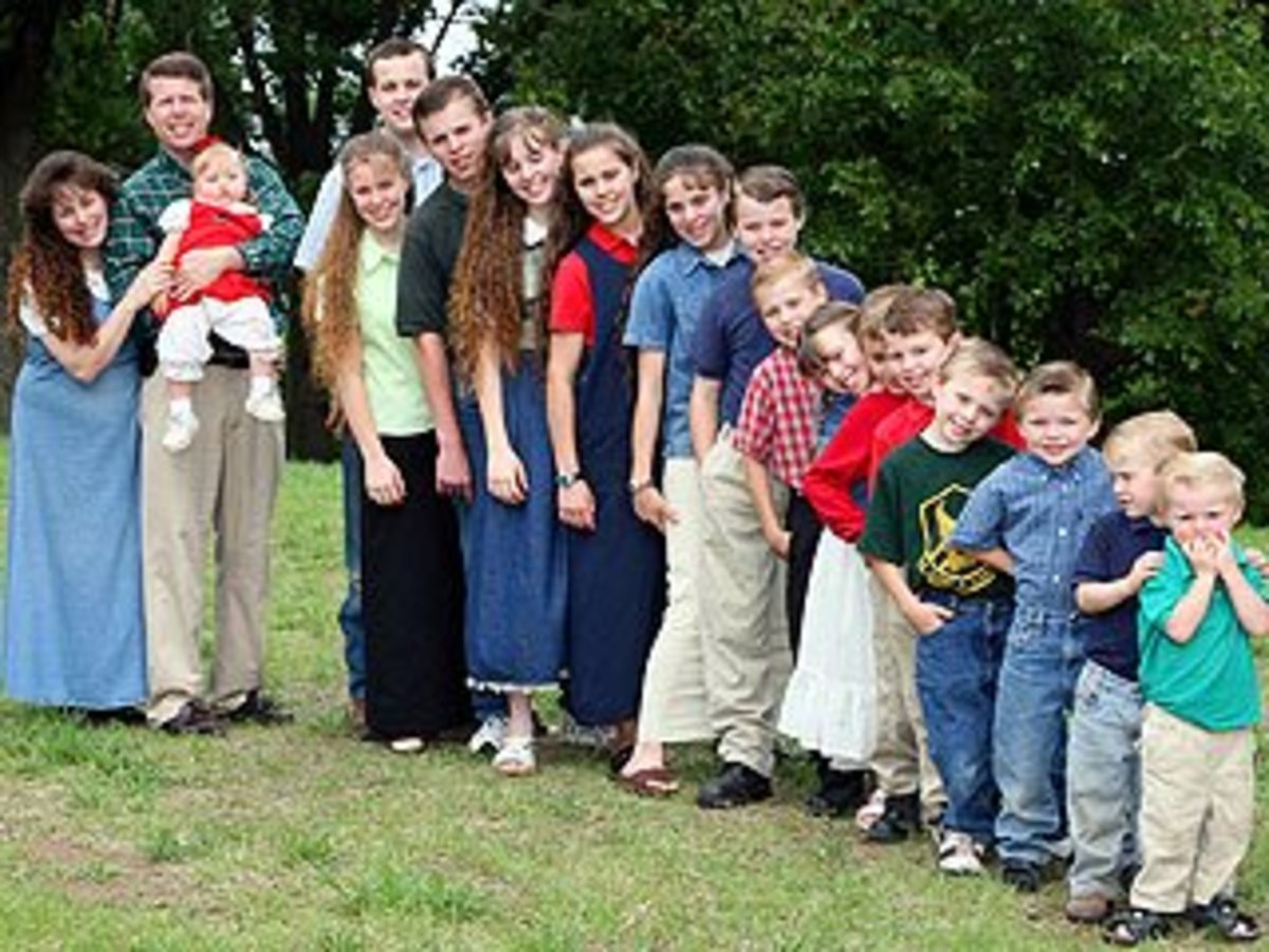 What is with the Duggars? Nineteen children, really now.